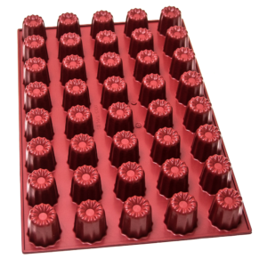 Moule à canelés – 40 alvéoles