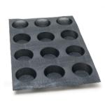 Moule pain rond – 12 alvéoles