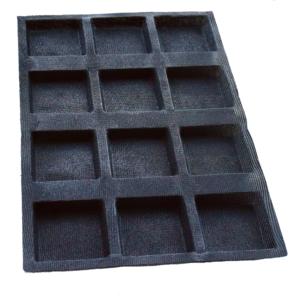 Moule pain carré – 12 alvéoles