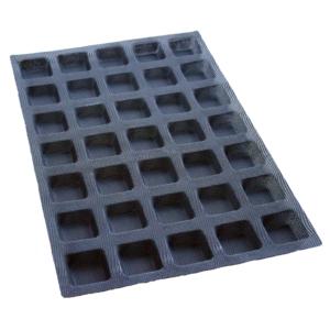 Moule mini carré – 35 alvéoles